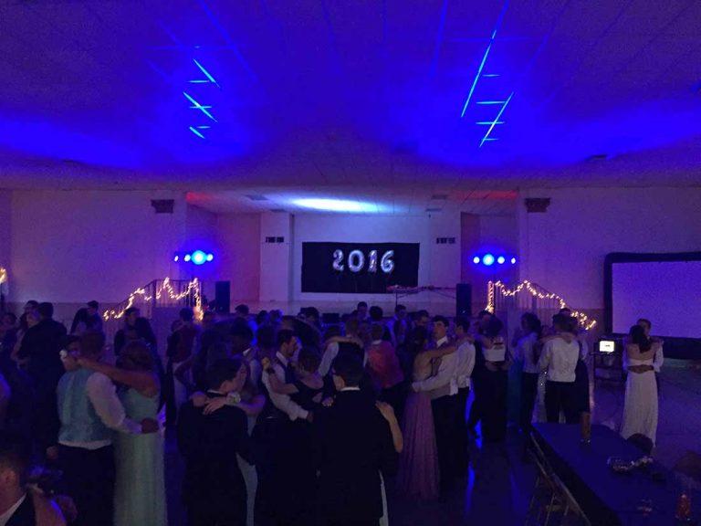Dance - blue lighting